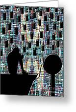 Abstraction 104 Greeting Card by Patrick J Murphy