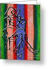 Abstraction 232 Greeting Card by Patrick J Murphy