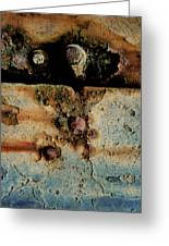 Abstraction Gap Abstraction Greeting Card by Odd Jeppesen