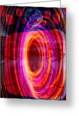 Abstraction Greeting Card by M and L Creations