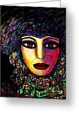 Acacia Greeting Card by Natalie Holland