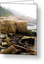 Acadia Morning 7647 Greeting Card by Brent L Ander