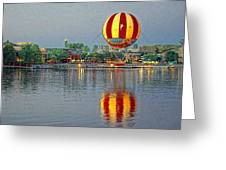 Across The Water Greeting Card by Jenny Hudson