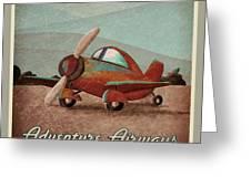 Adventure Air Greeting Card by Cindy Thornton