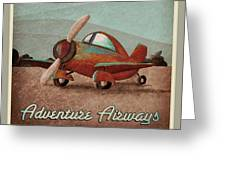 Adventure Air Greeting Card by Cindy Thornton