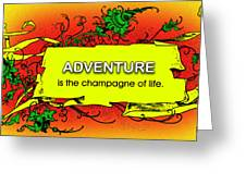 Adventure Greeting Card by Mike Flynn