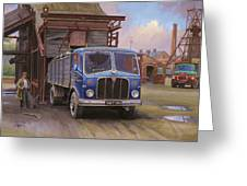 Aec Mercury Tipper. Greeting Card by Mike  Jeffries