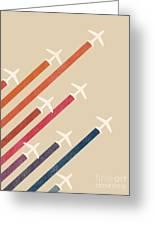 Aerial Display Greeting Card by Budi Satria Kwan