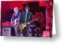 Aerosmith-joe Perry-00019 Greeting Card by Gary Gingrich Galleries