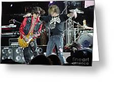 Aerosmith - Joe Perry -dsc00182-2 Greeting Card by Gary Gingrich Galleries