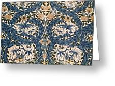 African Marigold Design Greeting Card by William Morris