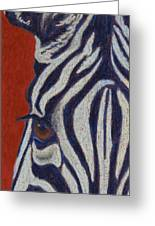 African Stripes Greeting Card by Tracy L Teeter