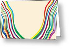 After Morris Louis 2 Greeting Card by Gary Grayson