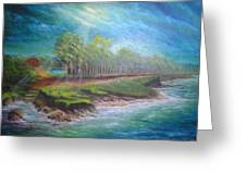 After The Storm Greeting Card by Affordable Art Halsey