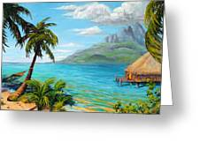 Afternoon Delight Greeting Card by Mary Giacomini