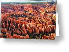 Afternoon Hoodoos Greeting Card by Robert Bales