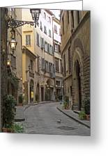 Afternoon In Florence Greeting Card by Michael Flood