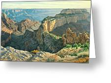 Afternoon-north Rim Greeting Card by Paul Krapf