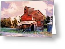 Against The Grain Greeting Card by Marty Koch