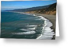 Agate Beach Greeting Card by Adam Jewell