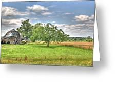 Air Conditioned Barn Greeting Card by Douglas Barnett