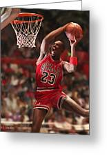 Air Jordan Greeting Card by Mark Spears