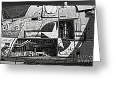 Airplane Graveyard - 08 Greeting Card by Gregory Dyer