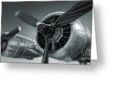 Airplane Propeller - 02 Greeting Card by Gregory Dyer
