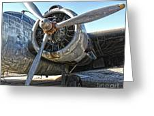Airplane Propeller - 04 Greeting Card by Gregory Dyer