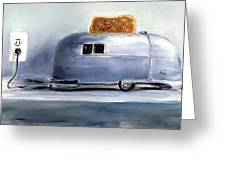 Airsteam Toaster Greeting Card by Sunny Avocado