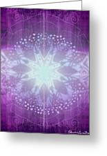 Ajna - Chakra 6 Greeting Card by Christine Louise Bryant