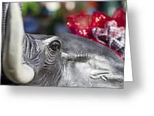 Alabama Football Pachyderm Greeting Card by Kathy Clark