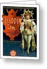 Aladdin Jr Jestor Greeting Card by Terry Reynoldson
