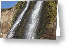 Alamere Falls Pacific Coast Greeting Card by Garry Gay