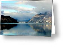 Alaskan Splendor Greeting Card by Karen Wiles