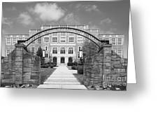 Albany Law School Gate Greeting Card by University Icons
