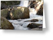 Alberta Falls Greeting Card by Tranquil Light  Photography