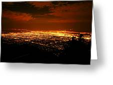 Albuquerque New Mexico  Greeting Card by Jeff  Swan