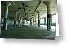 Alcatraz 5 Greeting Card by Micah May