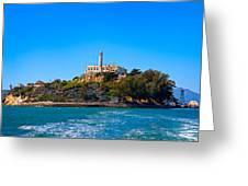 Alcatraz Island Greeting Card by James O Thompson