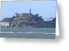 Alcatraz Island Greeting Card by Mike McGlothlen