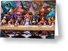 Alice In Wonderland 06a Greeting Card by Zenescope Entertainment