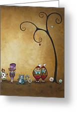 Alice In Wonderland Art - Encore - II Greeting Card by Charlene Zatloukal