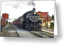 All Aboard Greeting Card by Paul W Faust -  Impressions of Light