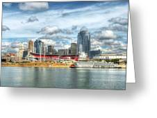 All American City 2 Greeting Card by Mel Steinhauer