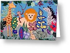All Creatures Great And Small Greeting Card by Joyce Gebauer
