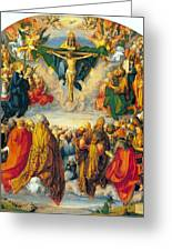 All Saints 1511 Greeting Card by Albrecht Durer