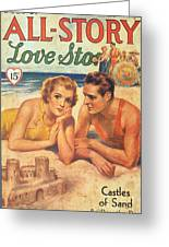 All-story 1920s Usa Holidays Love Greeting Card by The Advertising Archives