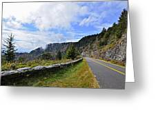Along The Highway Greeting Card by Susan Leggett