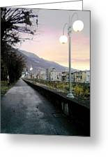 Along The Stream Morning First Light Greeting Card by Giuseppe Epifani